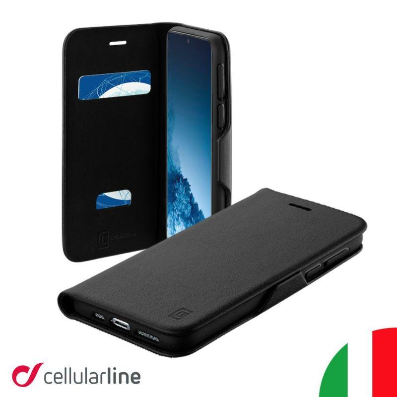 CellularlineGalaxyS20+S20手帳型ケースギャラクシーS10+S10Plus手帳型手帳ケースカバーイタリアブランド薄型おしゃれシンプルメンズかっこいい海外カード収納カードicカードBookClutch